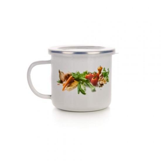 Enamel mug 2,0l