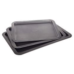 3pc set of baking trays Culinaria