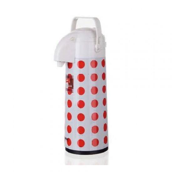 Airpot 1,9L, red dot decor