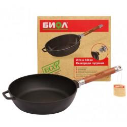 BIOL Deep Cast Iron Pan 24cm